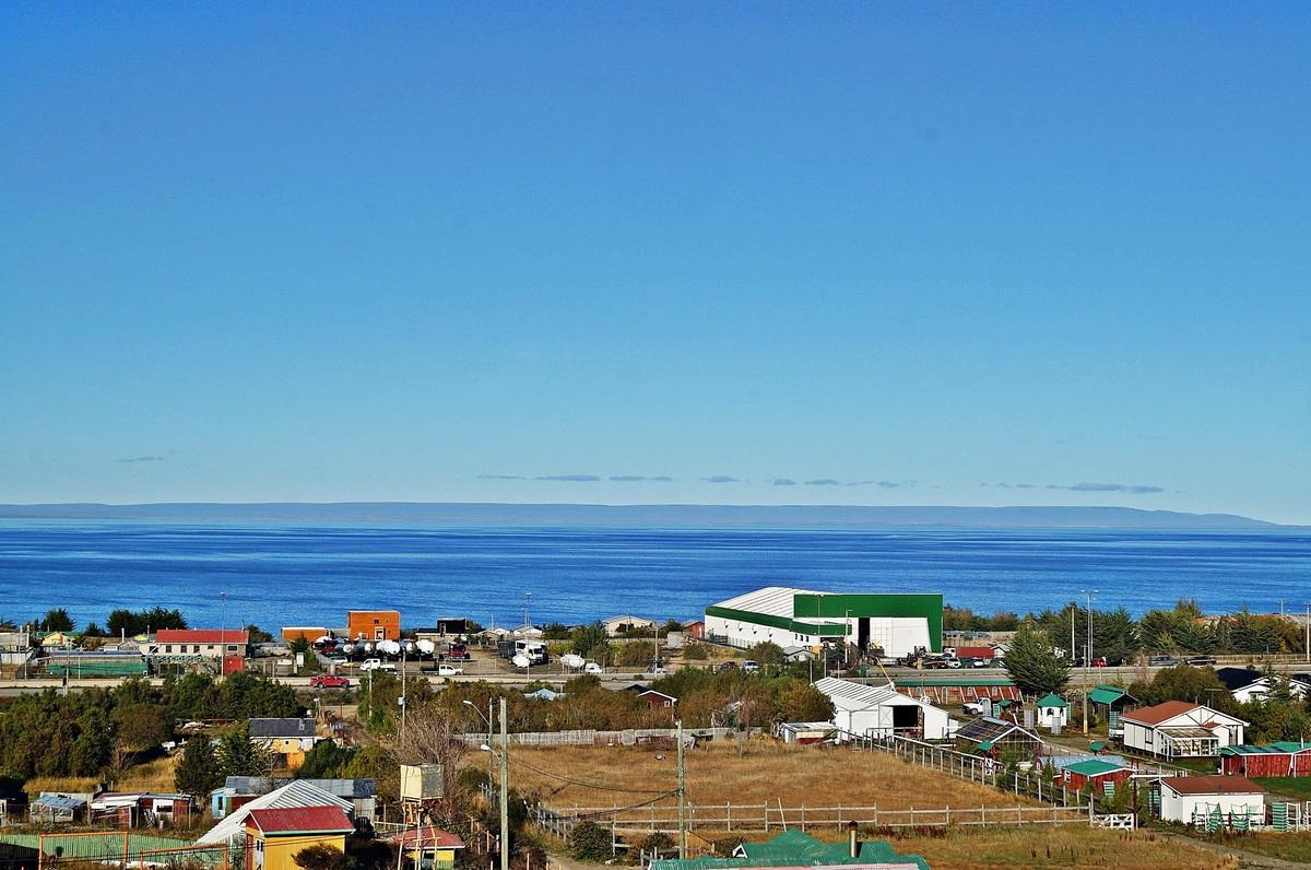 42 de 47: Vista del Estrecho de Magallanes desde la Casa