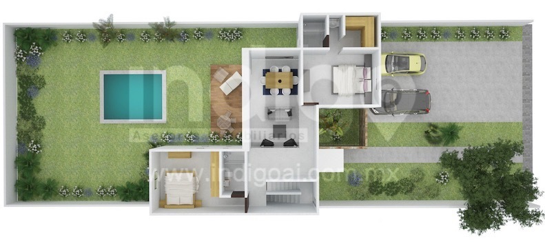 Casa nueva en venta en residencial chact modelo a for Modelo de casa nueva