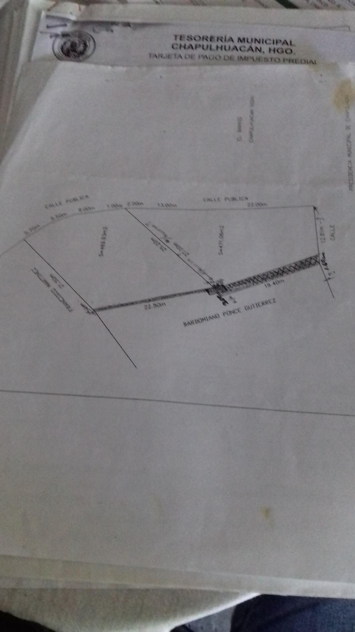 9 de 10: Plano terrenos.