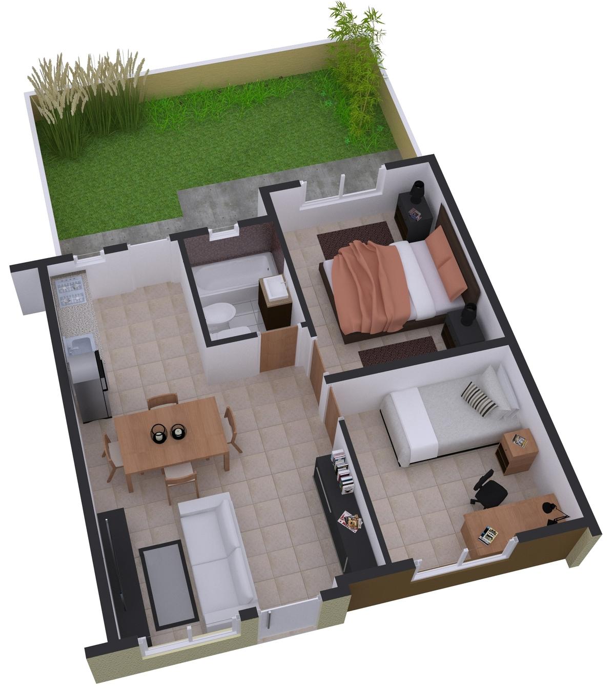 8 de 8: Render Casas de España 03