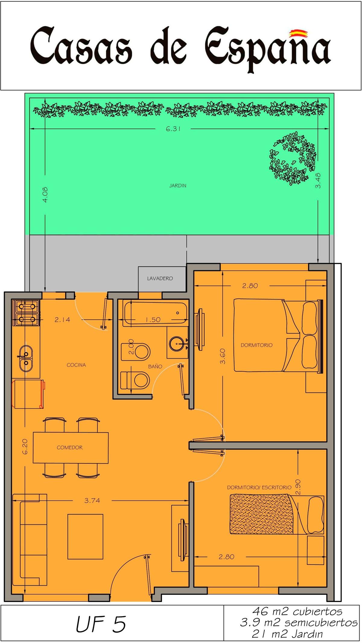 7 de 8: Render Casas de España 02