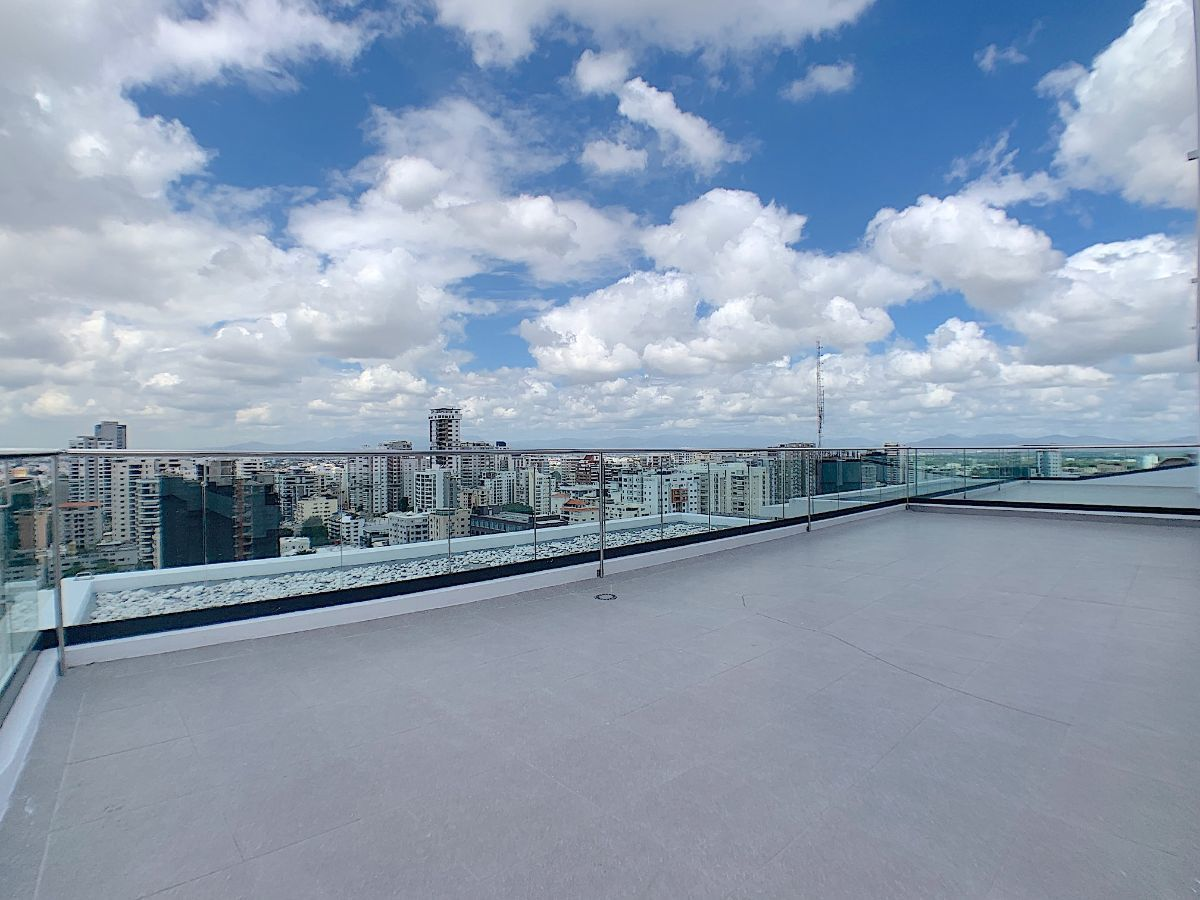 8 de 11: Terrazas comunes para actividades con vistas 360 grados