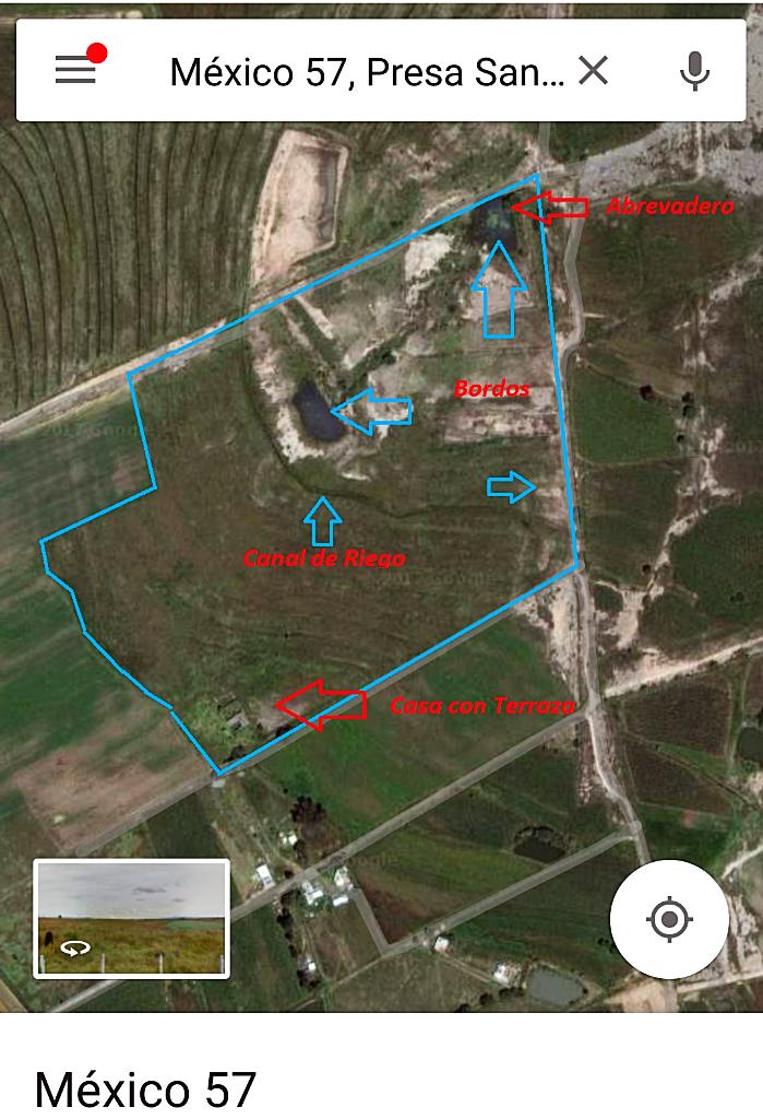 1 de 12: Vista de Satelite, alrededores del Rancho