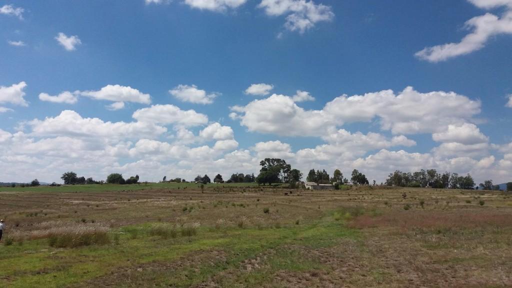 11 de 12: Vista desde la parte mas cercana a la Autopista