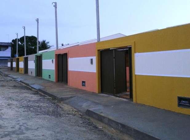 1 de 14: Vista de todas as casas rua calçada acesso individual