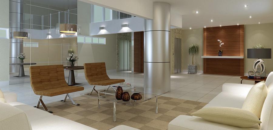 2 de 9: hall acesso aos apartamento foto ilustrativa