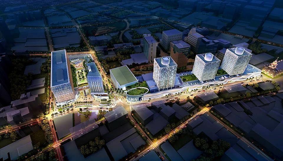 1 de 2: IMAGEN del proyecto que se construirá en Camino Real