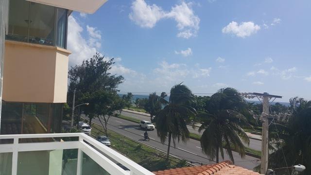 4 de 9: Vista Panorámica al mar y frente al edificio