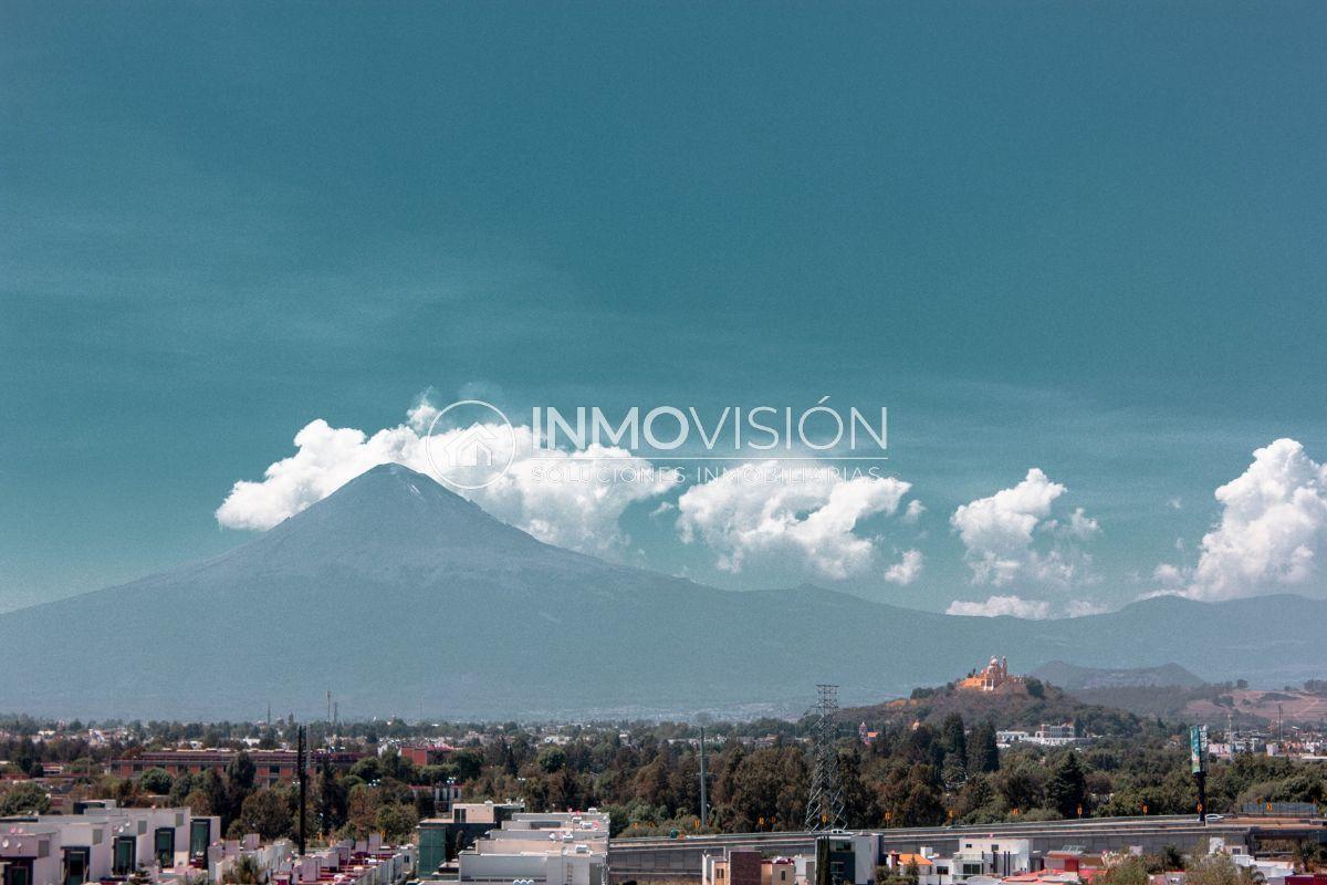 19 de 28: Vista a Cholula y volcanes