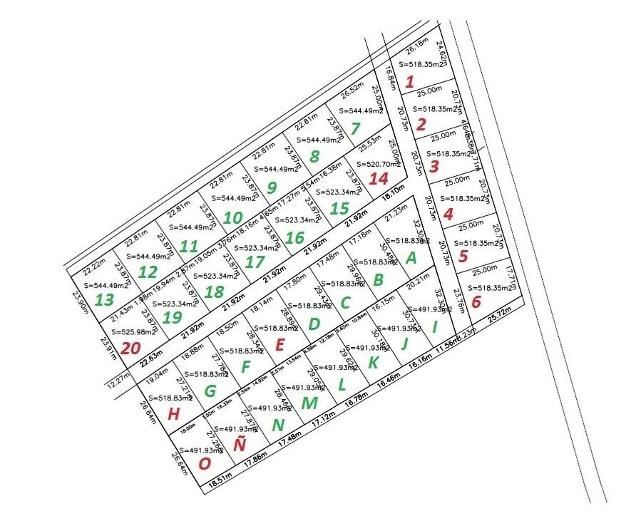 2 of 10: Croquis de los terrenos