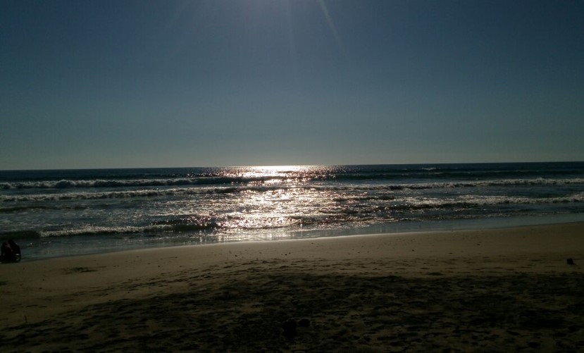 14 de 15: Puesta del sol.