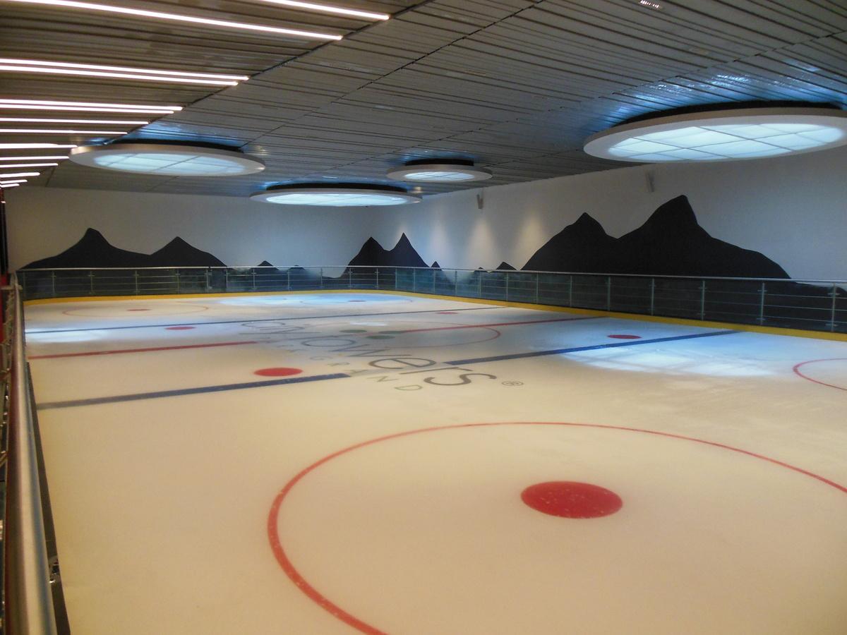 16 de 28: Pista de patinaje