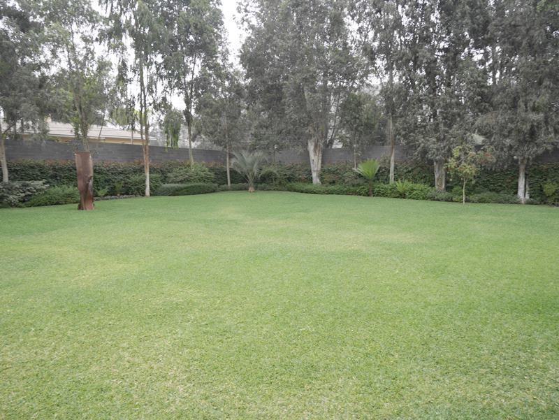4 de 41: Jardín lateral de la casa