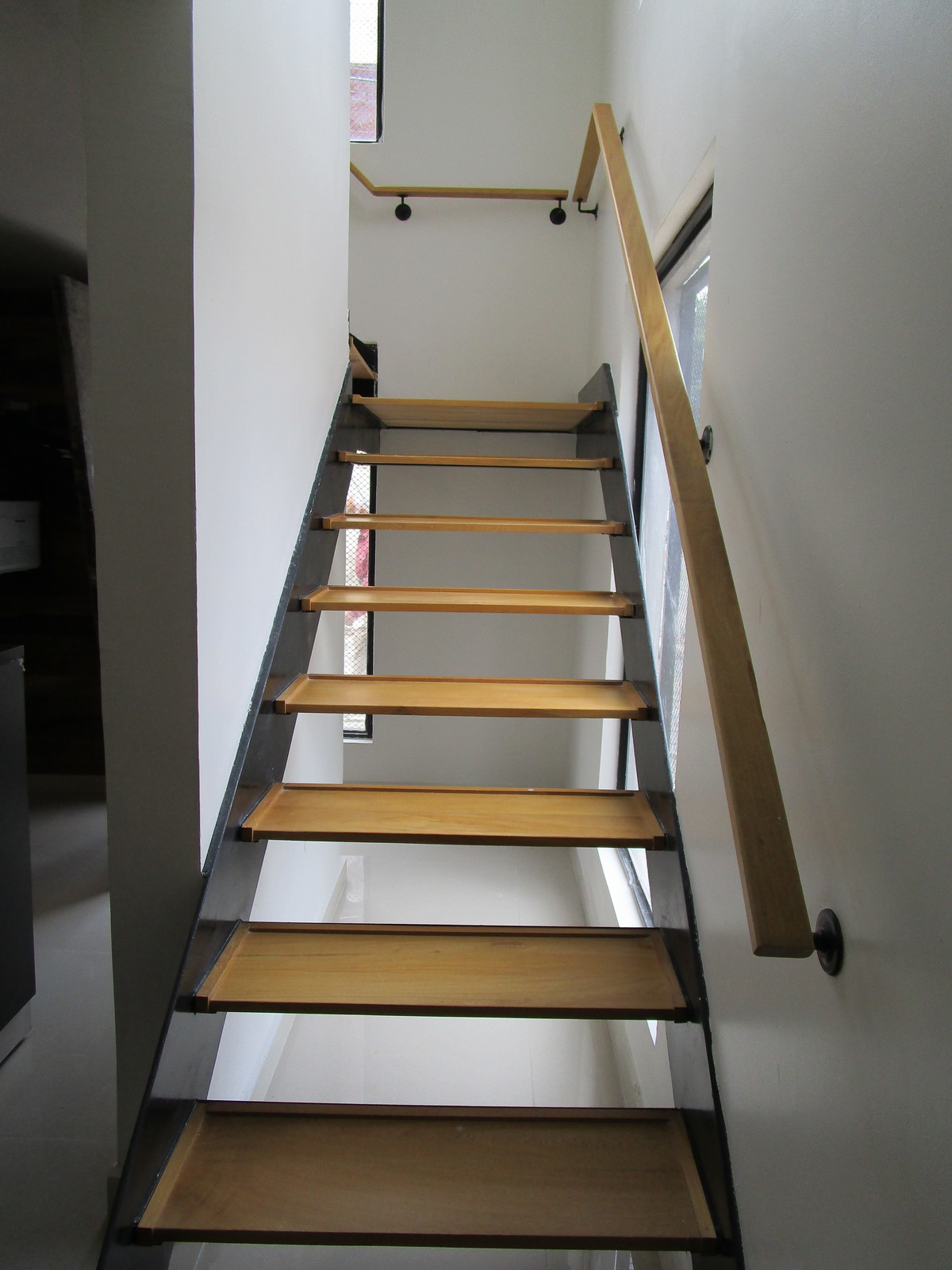 7 de 11: Escaleras de madera