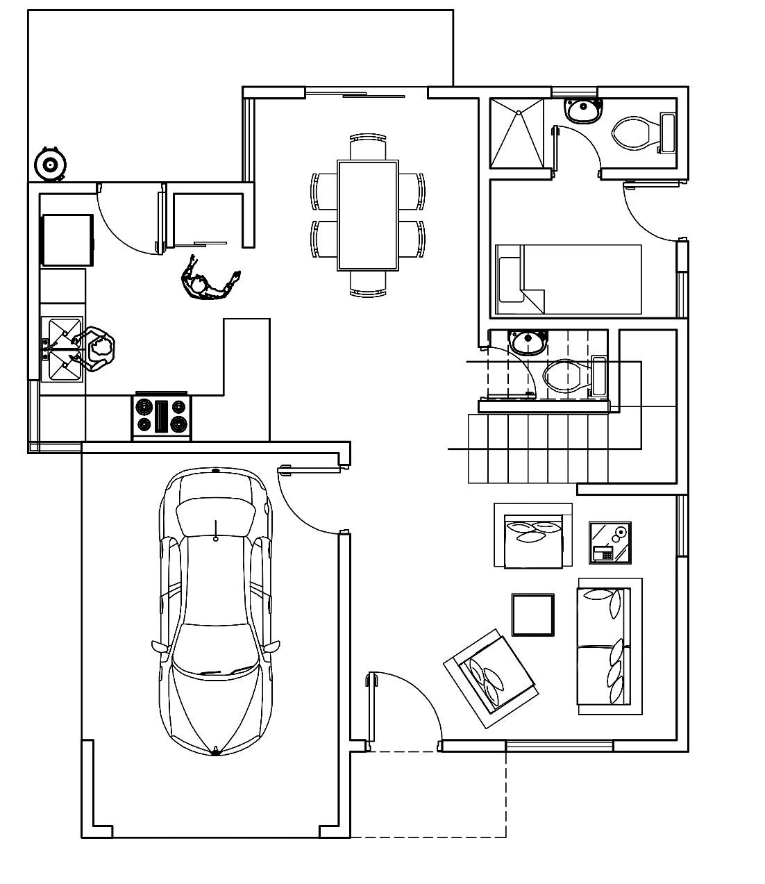 4 de 5: Plano primer piso