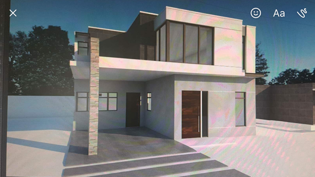 1 de 5: Fachada de la casa