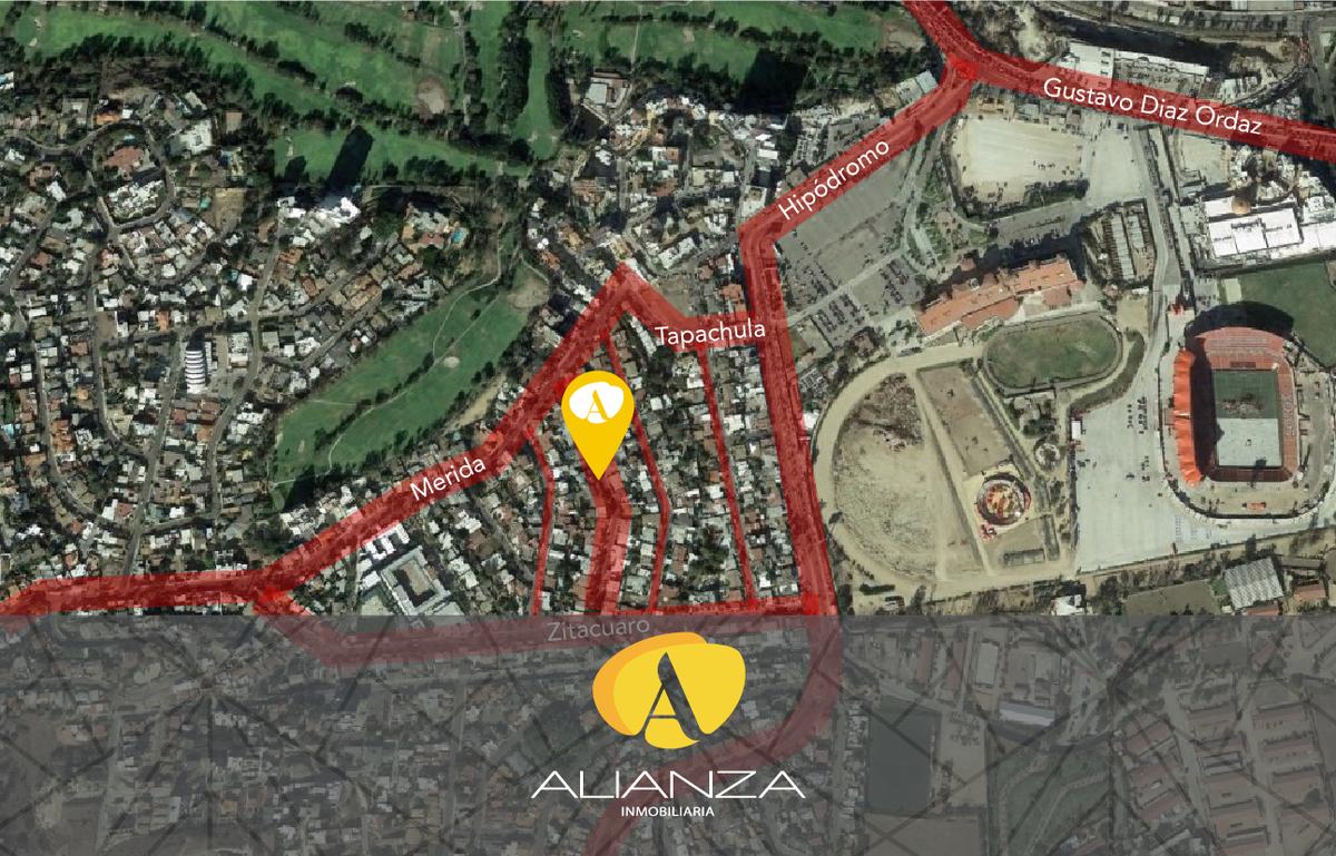 1 de 2: Mapa de ubicación de terreno.