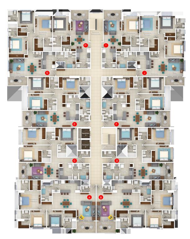 5 de 9: Planta dimensionada