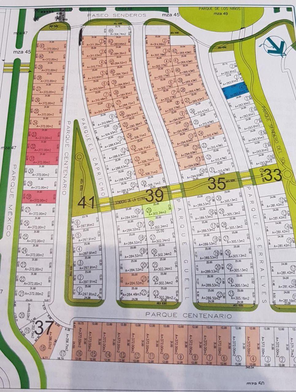 4 of 4: area en donde se encuentra el terreno en venta