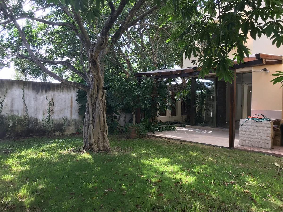 29 of 35: Jardín posterior con un precioso árbol de ámate