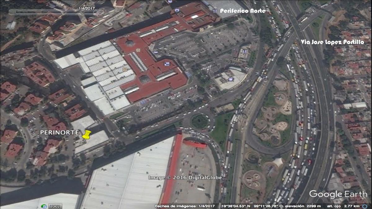 7 de 9: Ubicación al norte CDMX.  Rodeada de conjuntos habitacional