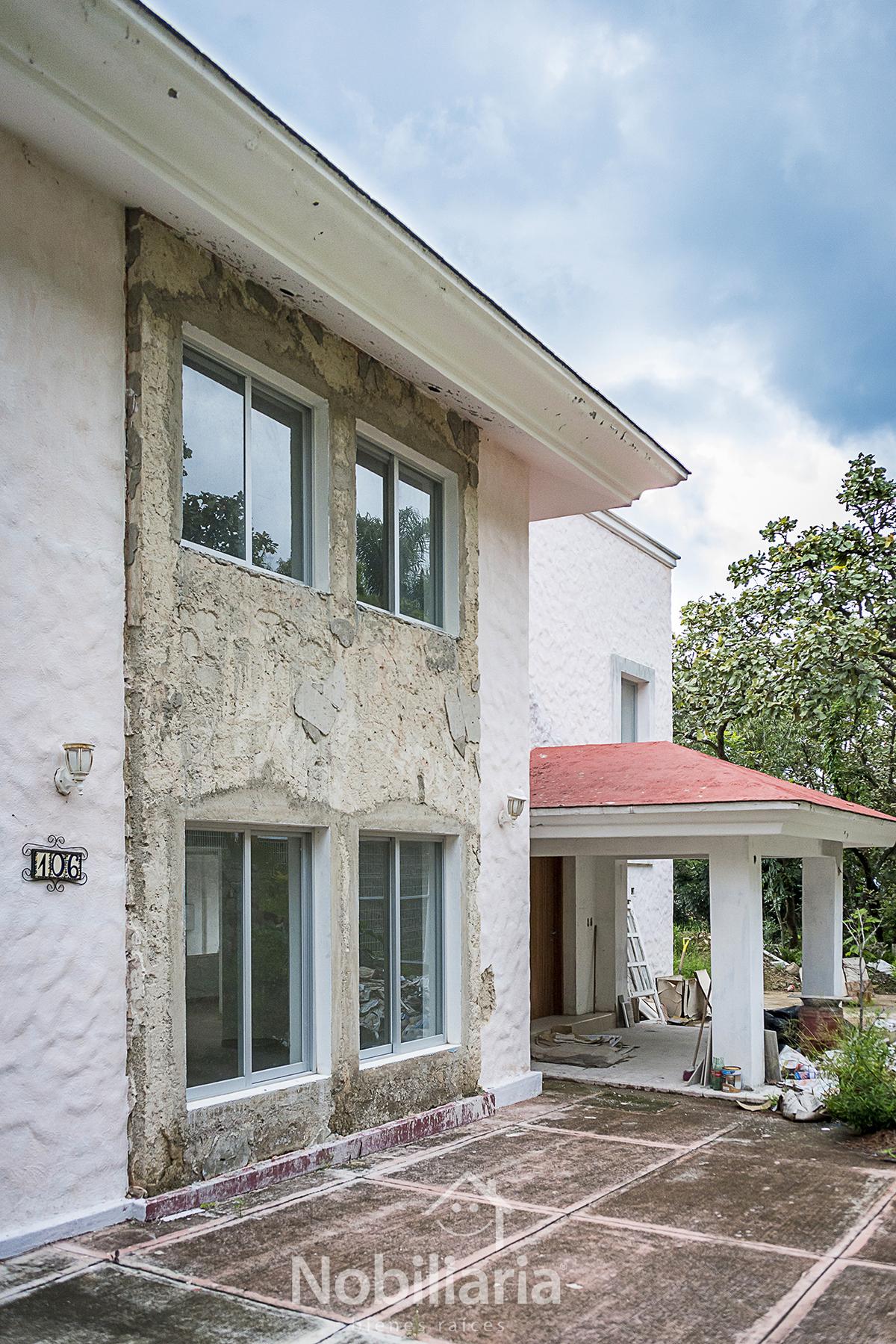 3 de 15: La casa está en la última etapa de su remodelación.