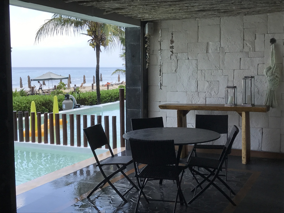 16 of 28: exterior terrace with private pool overlooking the ocean