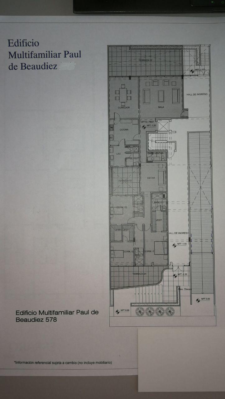 5 de 8: Área Común Hall de Ingreso