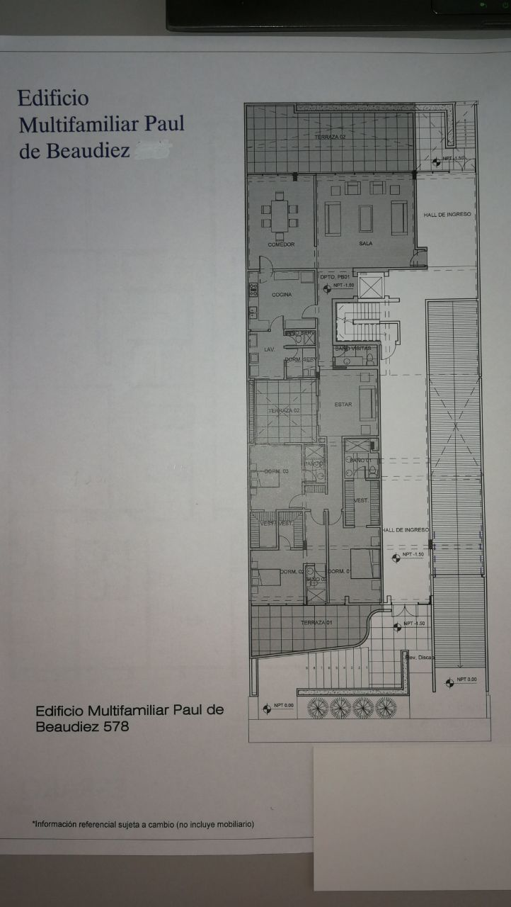 8 de 11: Área Común Hall de Ingreso