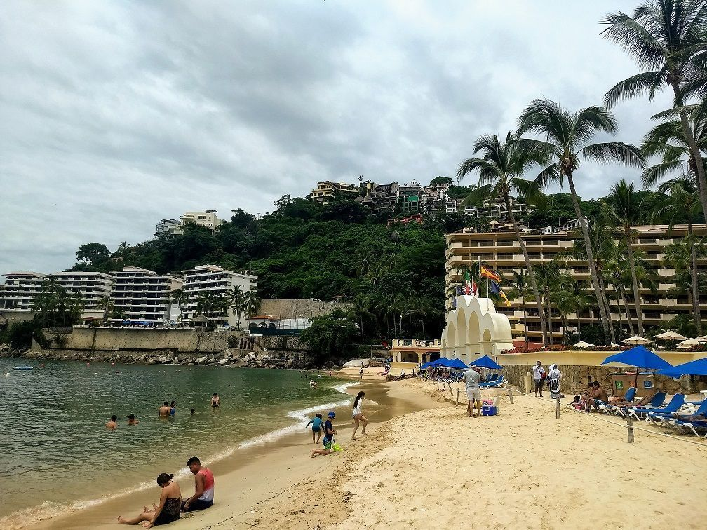 1 de 9: la playa de Mismaloya