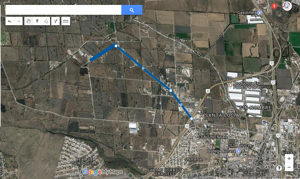 3 de 18: a 1.6 km del libramiento norponiente.