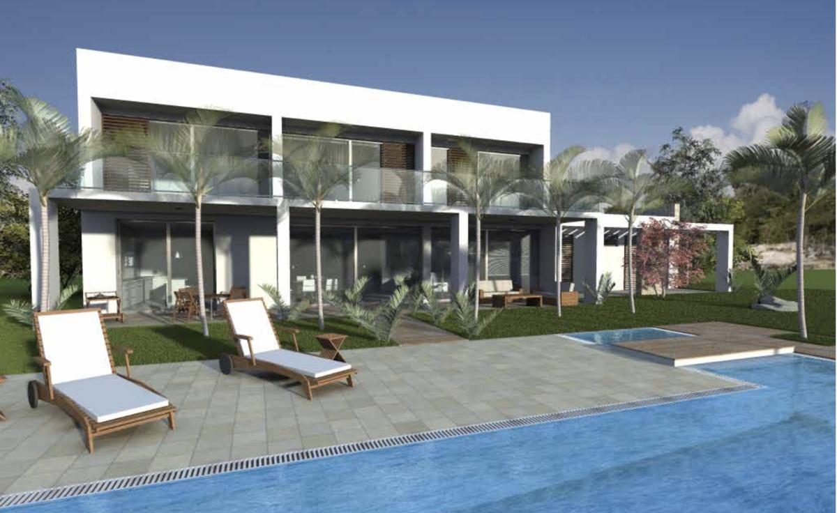 2 de 2: Vista Terraza y piscina