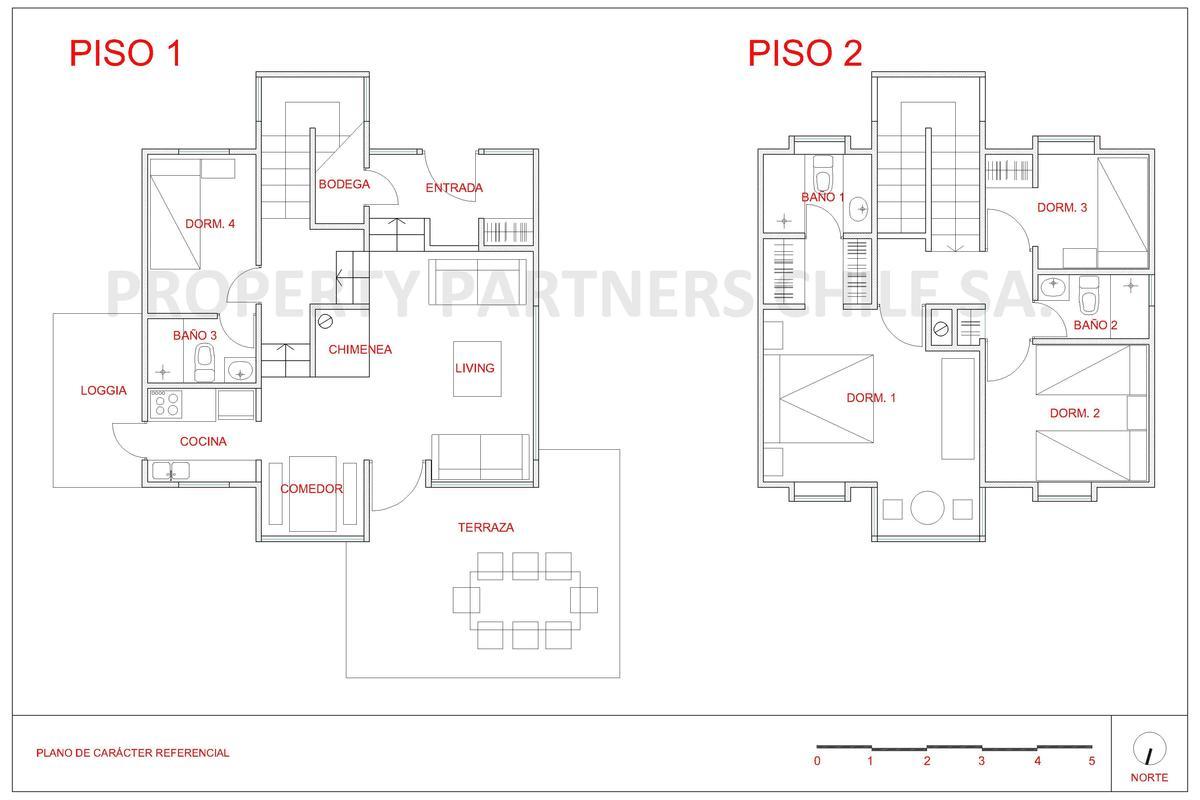 27 de 27: Plano casa tipo
