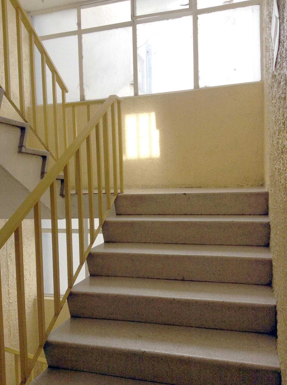 9 de 15: Escalera interior 2