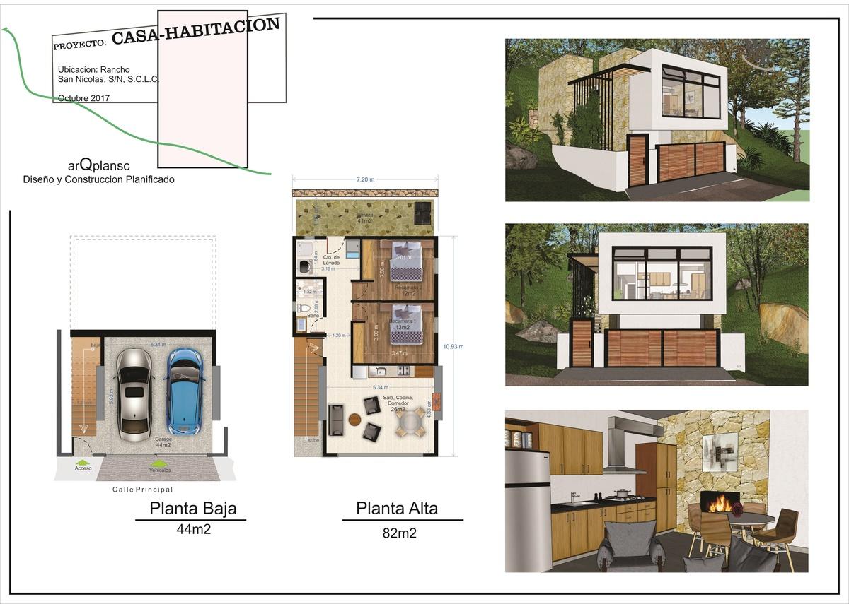 Casa En Preventa Con Proyecto Arquitect Nico En Rancho