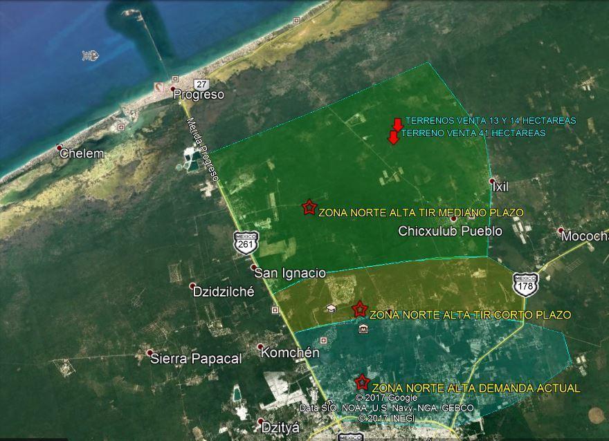 Terreno En Venta En Chicxulub Merida Yucatan