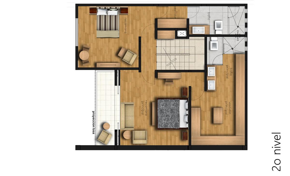 4 de 4: Segundo piso planta arq