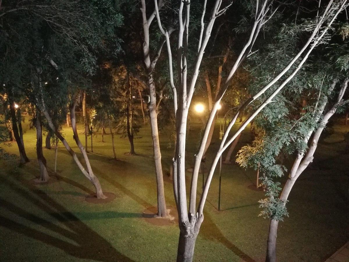 36 de 37: Luz directa al parque desde el departamento