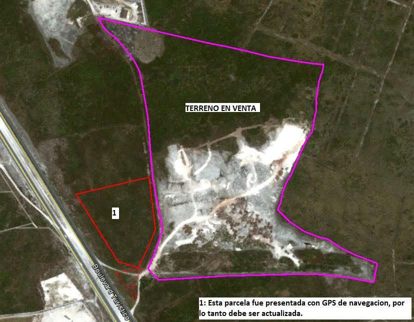 1 de 1: Vista Satelital del terreno