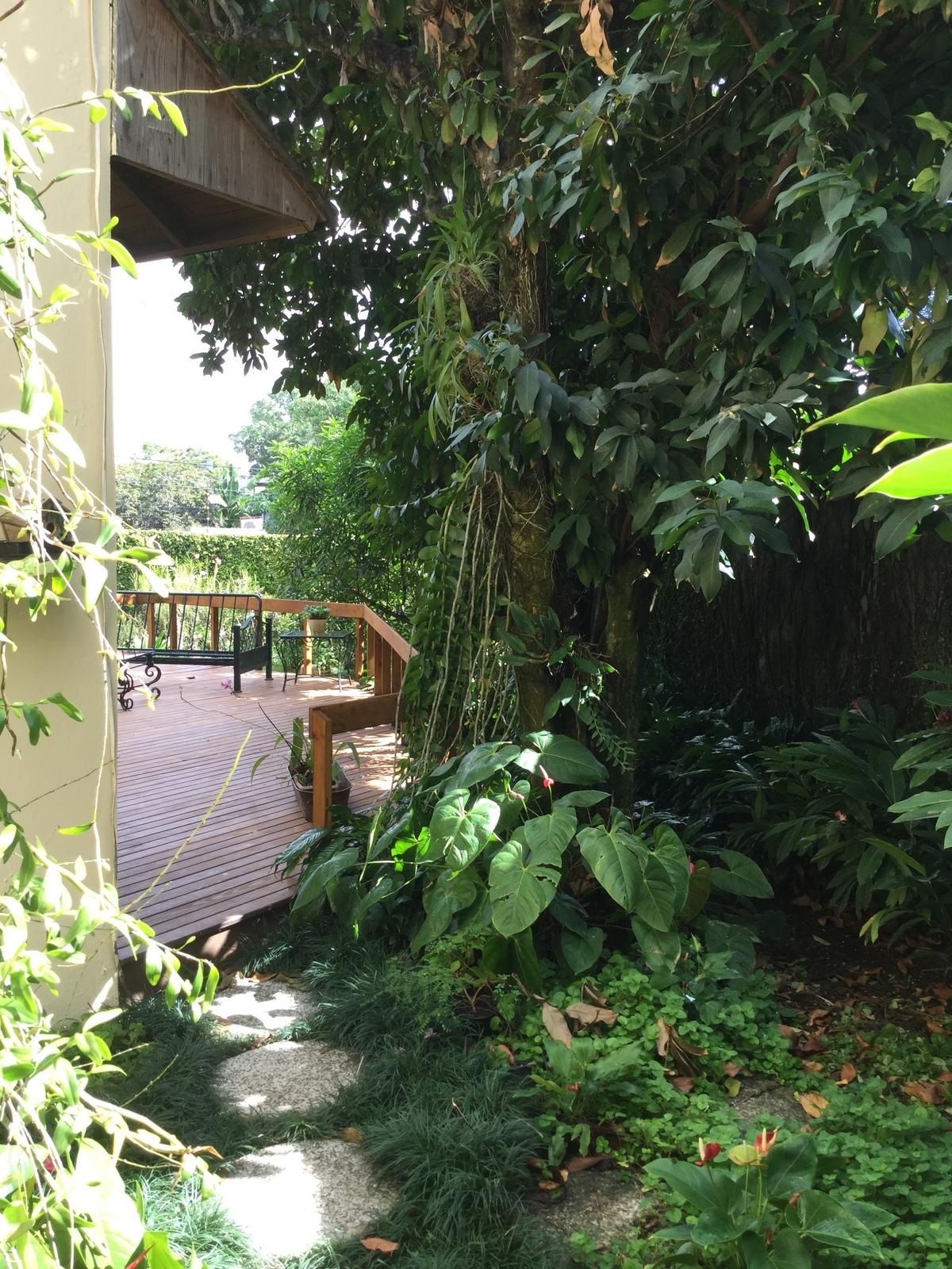 6 de 18: parte de la vista del impresionante jardín