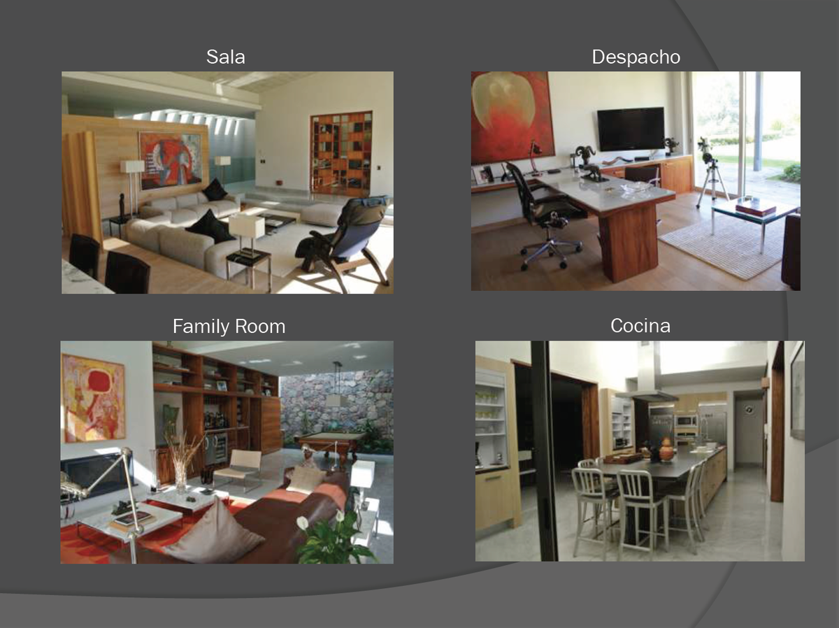 3 de 6: Areas interiores integradas