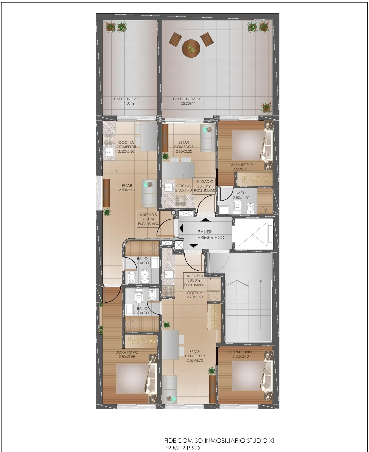 5 de 8: Planta 1er piso