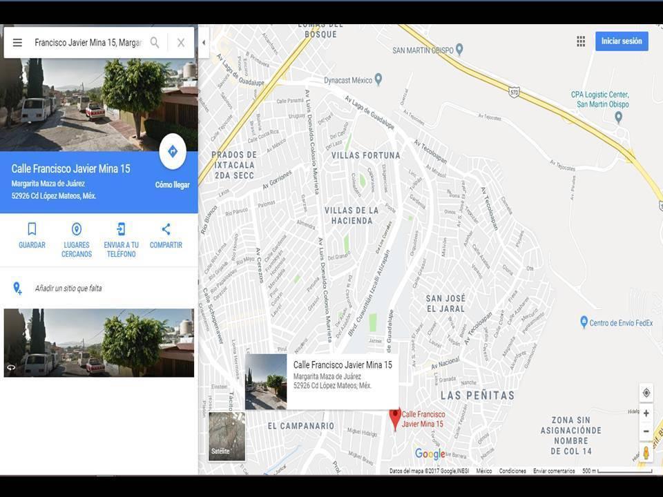 4 de 4: Localización en mapa.