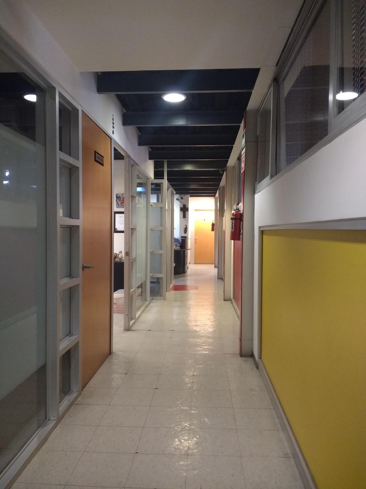 7 de 15: Pasillo Oficinas. 4 cubículos independientes o privados