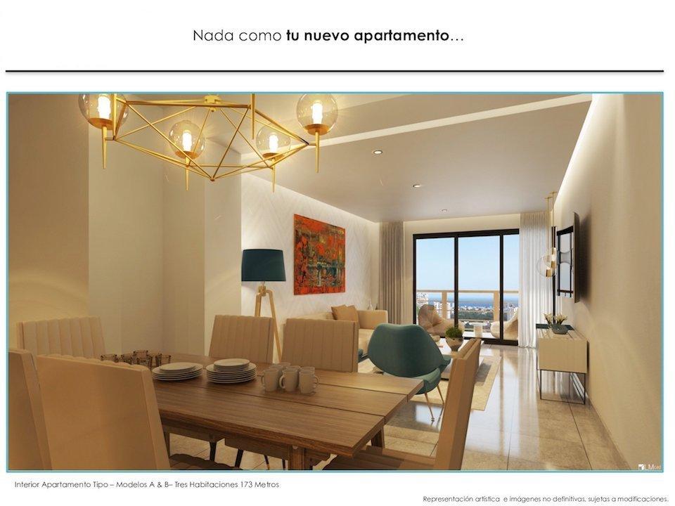 14 de 17: Imagen interior aptos., 3 habs., con balcón
