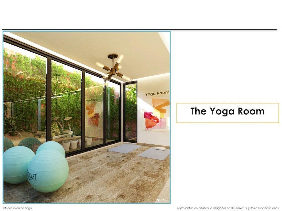 16 de 17: Imagen Salón para Yoga