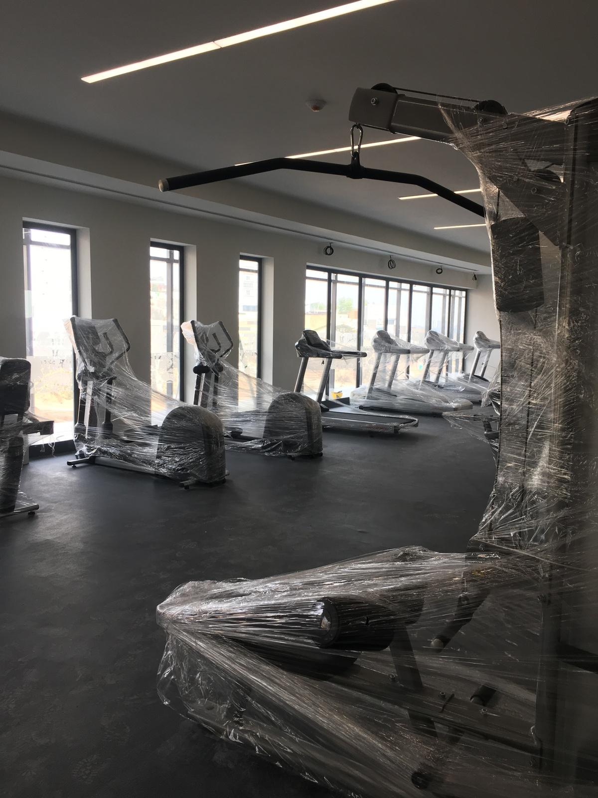 6 de 22: Gym