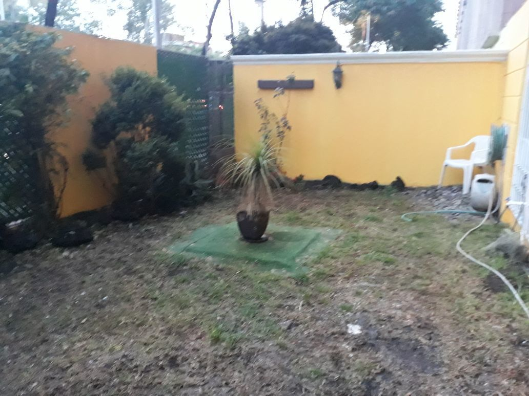 10 de 11: Jardín privado 24 mts aprox