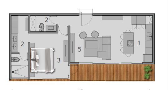 3 de 18: estructura del departamento