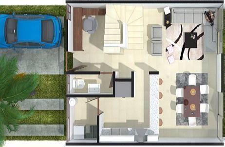 1 de 5: Casa en venta de 3 niveles